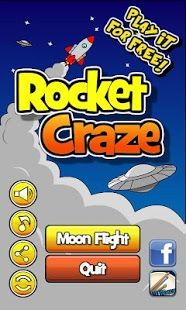 Build your own space rocket and launch it into the space. Fly as high as you can and up to the Moon!
