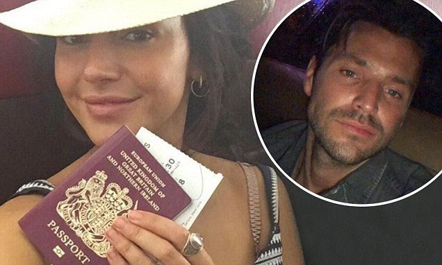 Michelle Keegan kept her fans guessing when she posted an Instagram picture of herself jetting off on her travels bright and early on Monday morning.