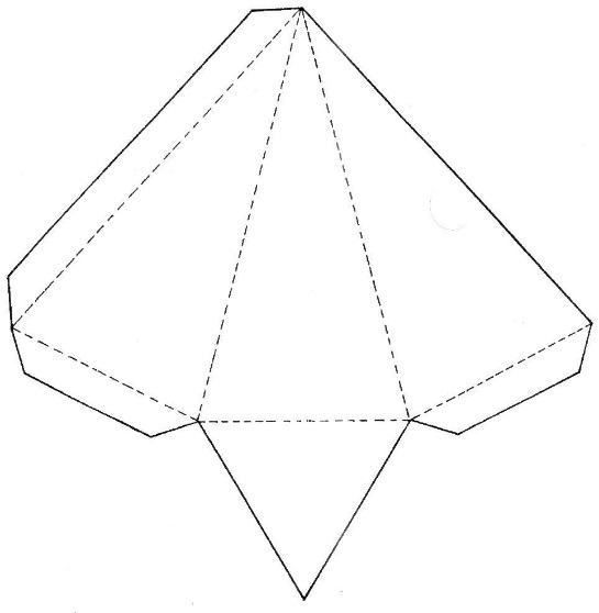 Pirâmide triangular