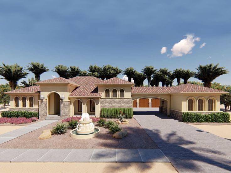 050h 0220 Mediterranean House Plan Mediterranean Homes Mediterranean House Plan Mediterranean Style House Plans