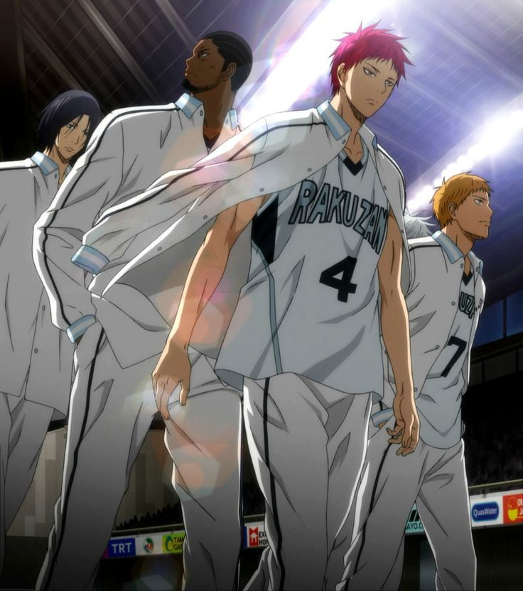 Team Rakuzan- The perfect basketball team. Makes NBA teams look like chumps (sorry if I offended anybody, just a personal opinion because they got me hype, for real)