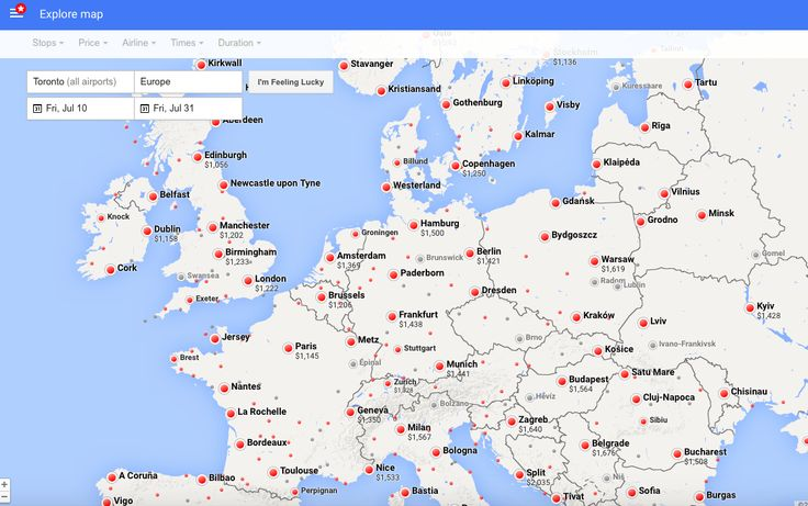 google flights - carpe diem europe map 2