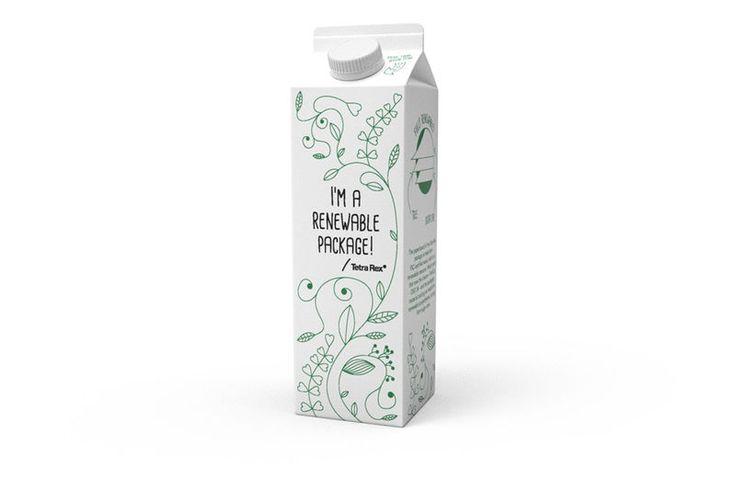 Actualité / Tetra Pak annonce son 1er emballage 100% renouvelable / étapes: design & culture visuelle
