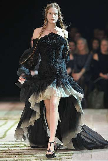 Majestic Fairytale Fashion  Sarah Burton's Debut Alexander McQueen SS11 Collection
