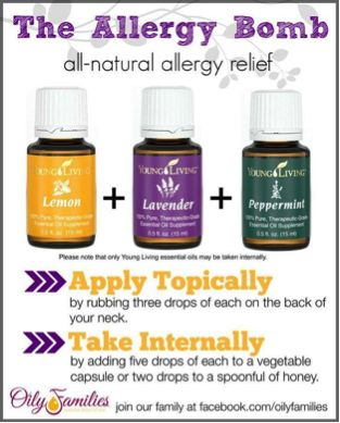 Struggle with allergies? Try this trio!