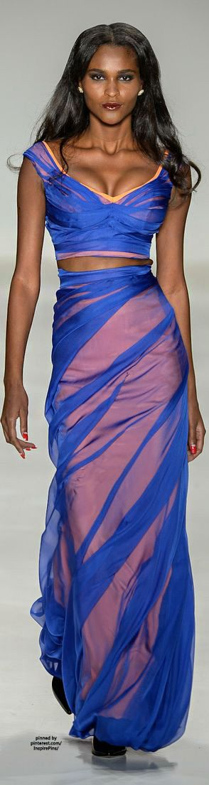 Samuel Cirnansck SS2015 #PurelyInspiration LBV ~Latest Trendy Luxurious Women's Fashion - Haute Couture - dresses, jackets, bags, jewelry, shoes etc.