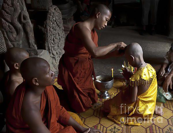BUDDHIST INITIATION BY FINE ART PHOTOGRAPHER JO ANN TOMASELLIhttp://jo-ann-tomaselli.artistwebsites.com/featured/buddhist-initiation-jo-ann-tomaselli.html #joanntomaselle #fineartphotographer #art