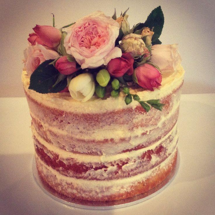 Naked Cake Fresh Flower Topper