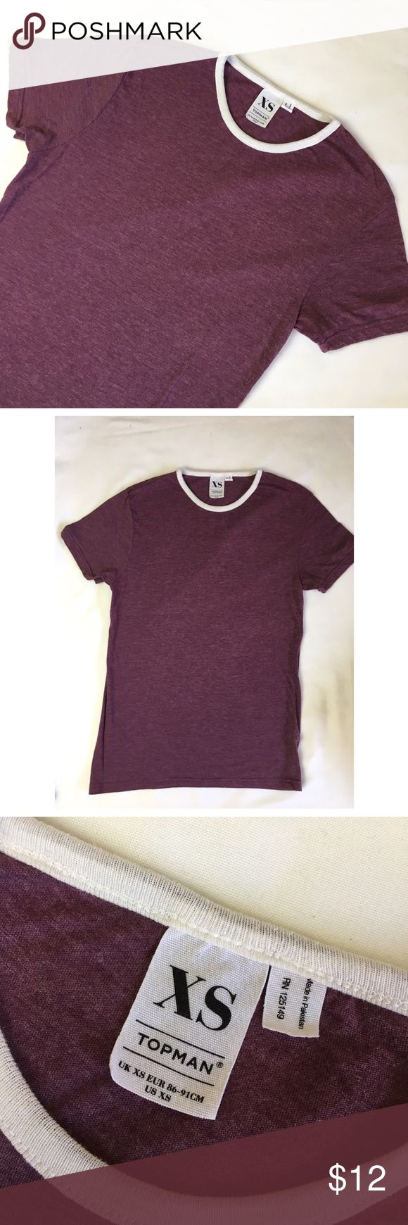 Topman Tshirt Soft Tshirt from Topman, can be a loose slim tee for women too! Gently used Topman Shirts Tees - Short Sleeve
