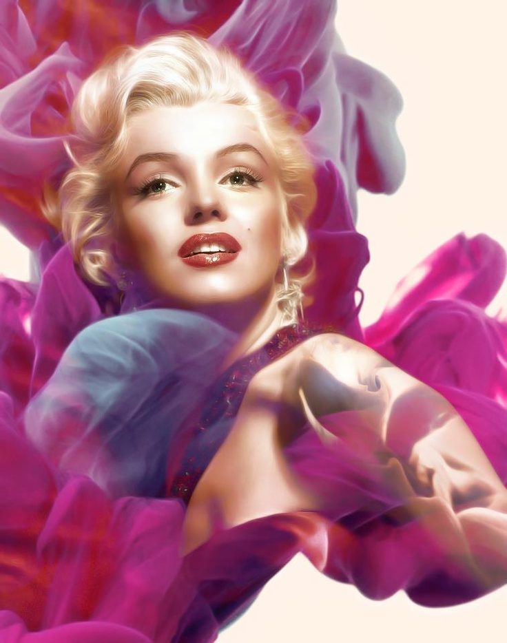 A very new and different Marilyn Monroe image - by Gianfranco Gallo