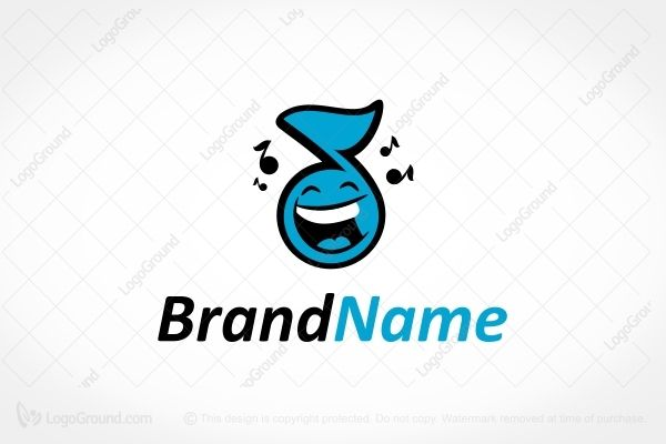 Logo for sale: Happy Vibe Logo