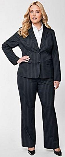 Dress suits for plus size women