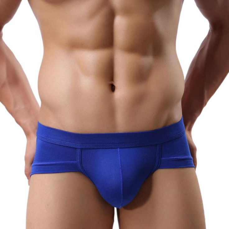 Sexy Underwear Men 100% High Quality Soft Breathable Briefs Shorts Men's Bulge Pouch Underpants Ropa interior para hombres