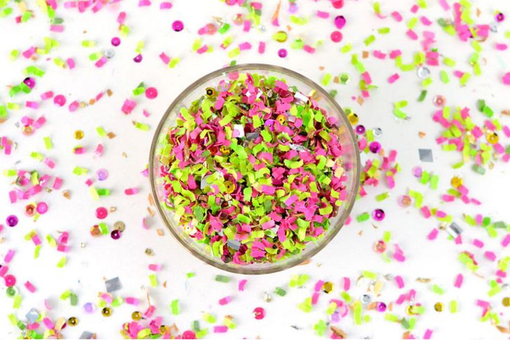 30 Photos of Beautiful Confetti That Will Make You Feel Instantly, Magically Happier  - Seventeen.com