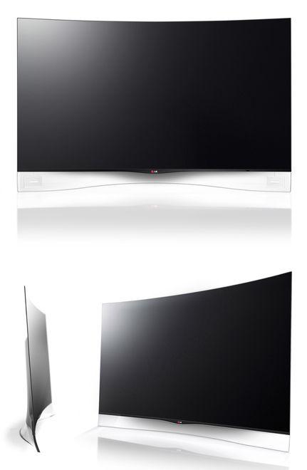 Curved OLED TV [EA9800] | 受賞対象一覧 | Good Design Award