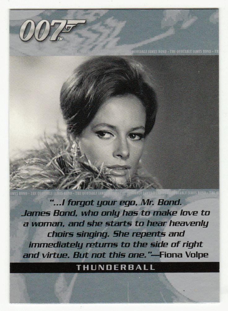 James Bond - The Quotable # 5 - Thunderball