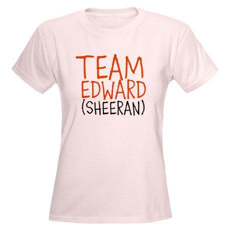 team ed sheeran t shirt on sheerio. Black Bedroom Furniture Sets. Home Design Ideas