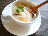 「お餅入り♪みぞれレンコンスープ」レシピ みんなの朝ごはん・朝食レシピ:朝時間.jp