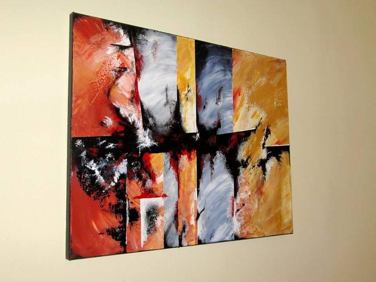 IMAGINATION 2  Mod de realizare : acrylic pe panza Dimensiune : 80 x 60 x 2 cm Lucrare disponibila Artwork available