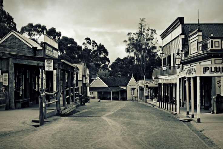 Main Street at Sovereign Hill