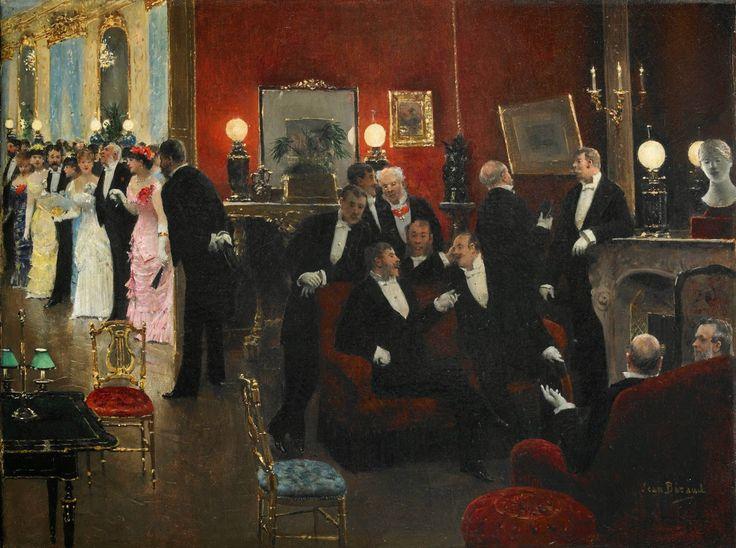 Jean Beraud (1849 - 1935) - A Parisian Bal: