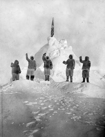 Robert Peary reached the North Pole on April 6, 1909.