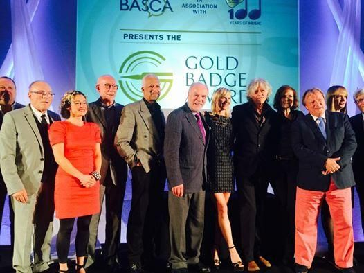 Well, I picked up my Gold Badge of Merit tonight from @BASCA_uk alongside some absolutely amazing people.