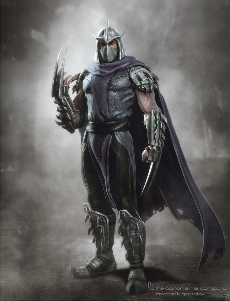 What Shredder should have looked like in the new Turtles movie.