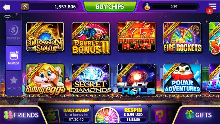 DoubleU casino lobby