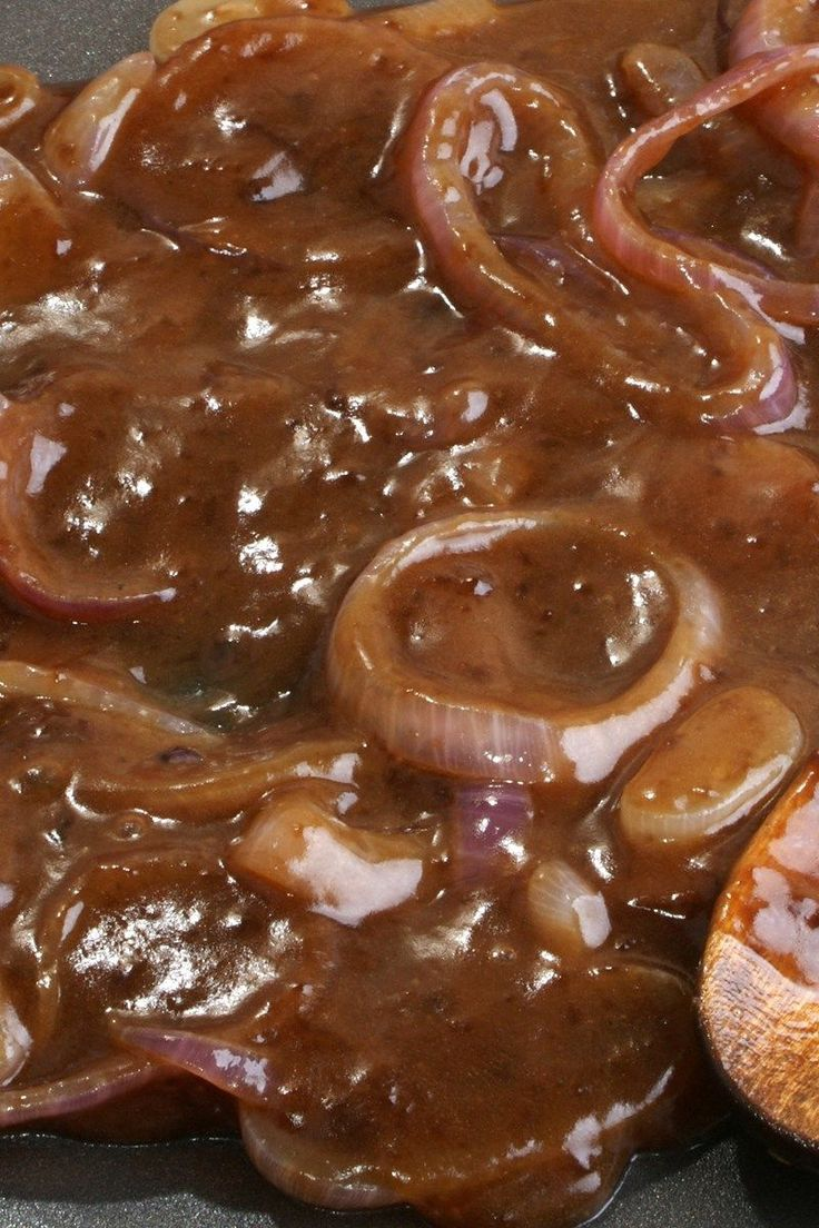 Homemade Onion Gravy - Weight Watchers Recipe
