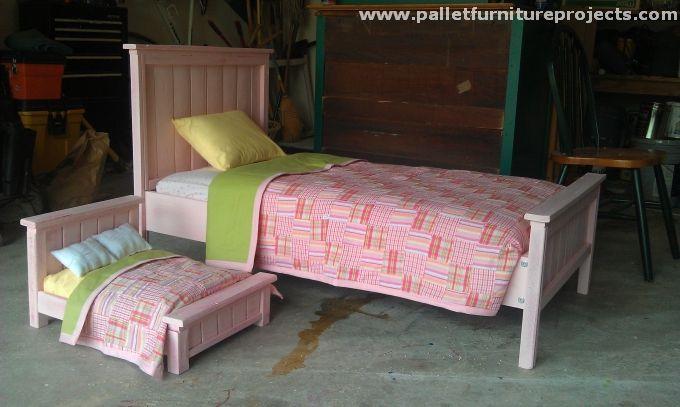 Pallet Toddler Bed Ideas