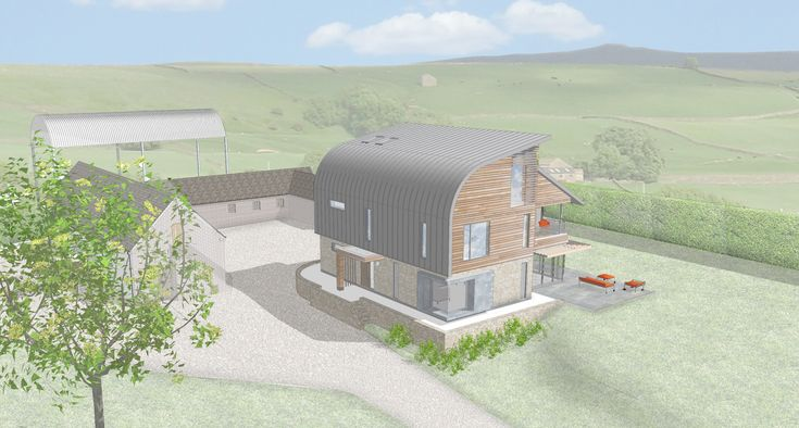This project has been designed to Passivhaus Plus standard. Passivhaus is the German standard for energy efficiency and is achieved through meticulous attention to detail and rigorous design. A Passivhaus will use on average 80% less energy than a house built to current UK Building Regulations. This project is currently on site and should be completed autumn 2016.