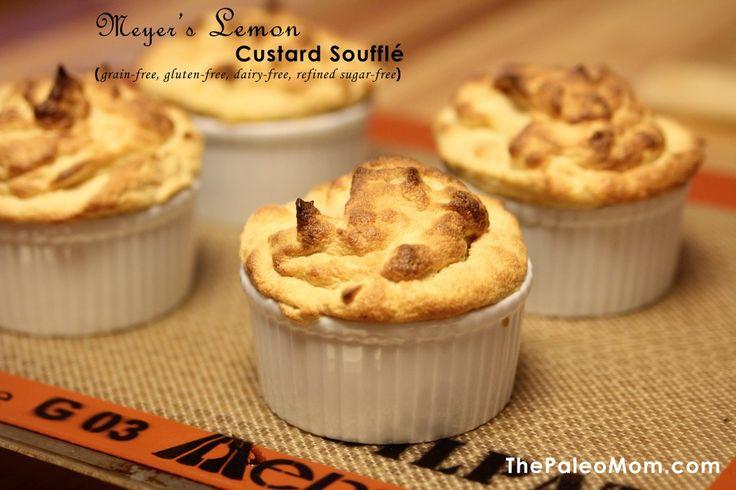 Meyer's Lemon Custard Souffle