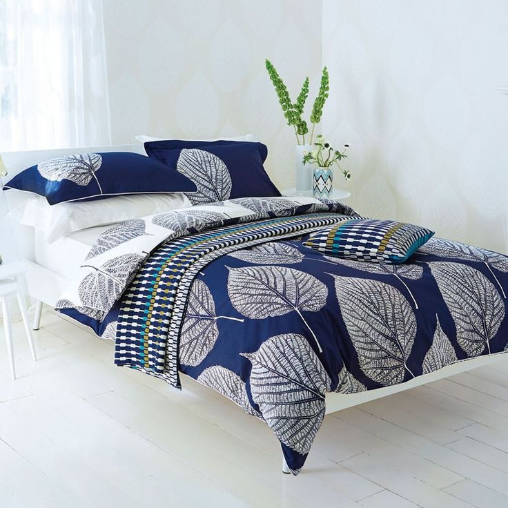 Harlequin Leaf Bedlinen | Duvet Covers Throws & Cushions at Bedeck Home
