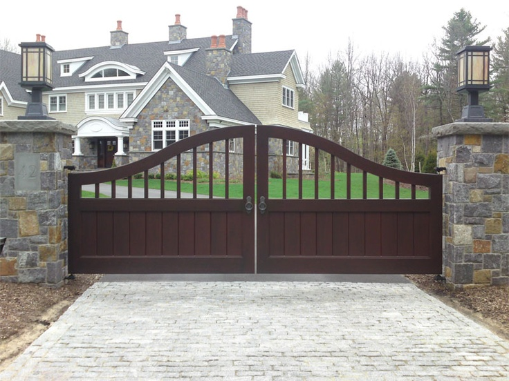 Wooden farm gate plans woodworking projects plans for Driveway gate plans