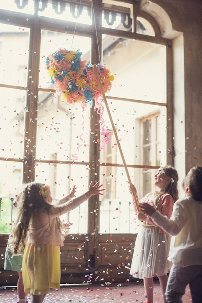 {DIY} Heart Piñata for Say Yep featured on 100 Layer Cakelet
