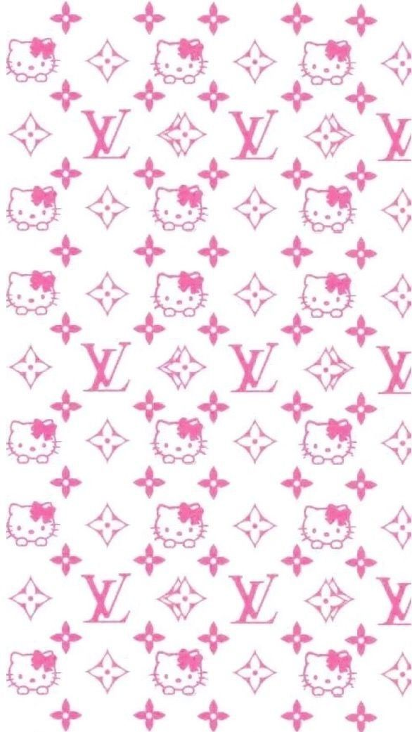 Fond D Ecran Louis Vuitton In 2020 Iphone Wallpaper Girly Hello Kitty Wallpaper Hello Kitty Pictures