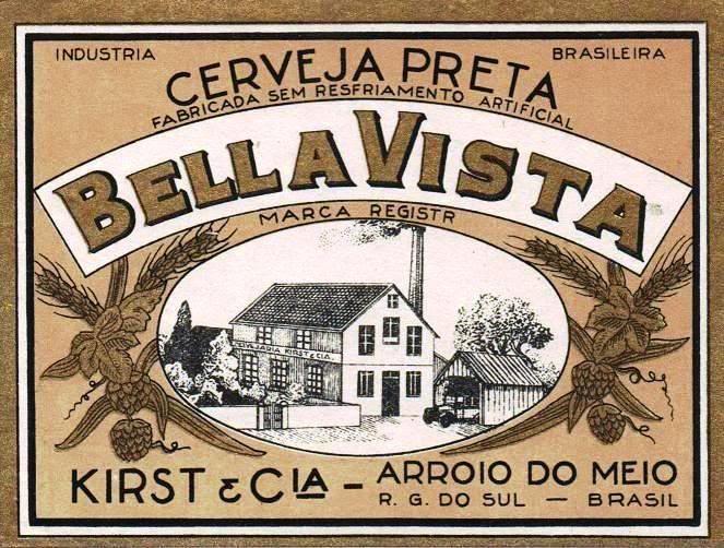 Cervejaria Kirst - Cerveja Bella Vista (Arroio do Meio/RS)