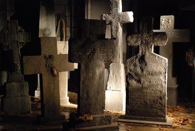 Tombstone, cross