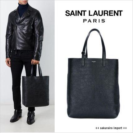 ●16-2017●Saint Laurent クロコダイル エンボス トートバッグ サンローラン 2016-2017 ファッション