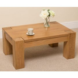 Tesco direct: Kuba Chunky Solid Oak Coffee Table
