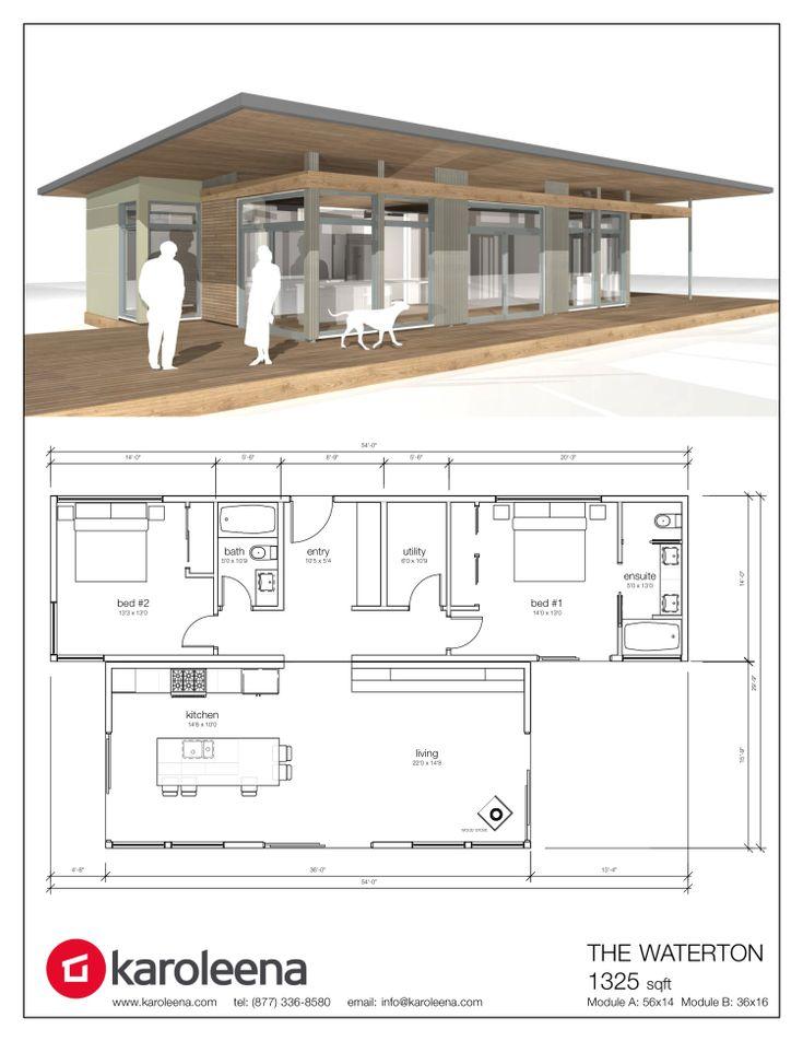 1424 best Rumah images on Pinterest Floor plans, House floor plans - new house blueprint esl