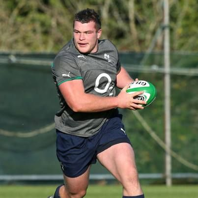 Jack McGrath - Leinster and Ireland Rugby player..