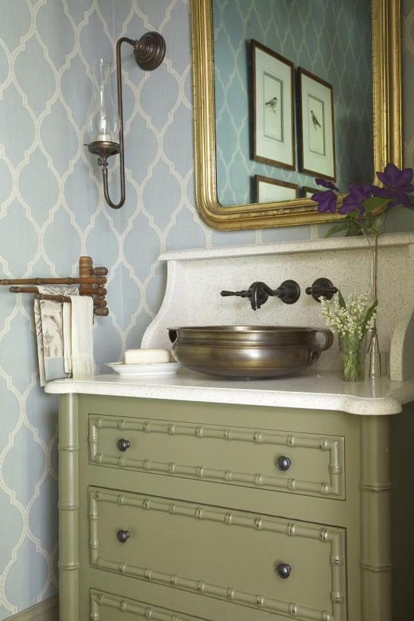 Classic Motif - Beautiful Wallpaper Ideas - Southernliving. Like a good monogram, a classic wallpaper motif can last the test of time and highten the elegance of a room.