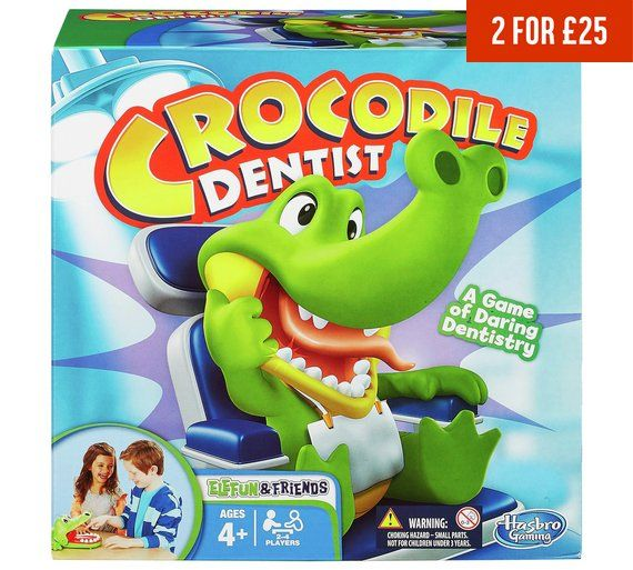 Buy Crocodile Dentist from Hasbro Gaming at Argos.co.uk, visit Argos.co.uk to shop online for Board games, Board games, jigsaws and puzzles, Toys