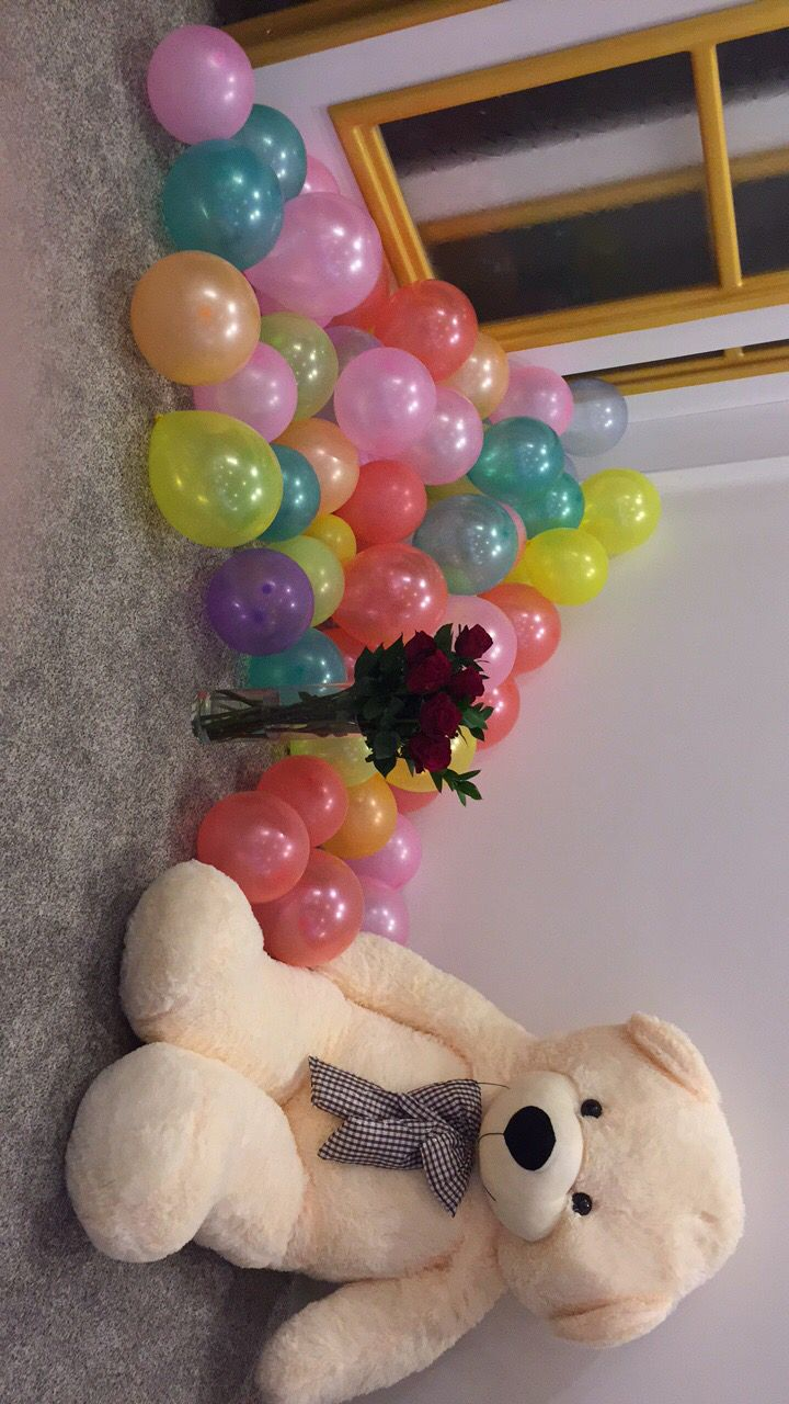 Birthday surprise for girlfriend