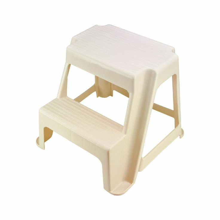 plastic two step stool 1