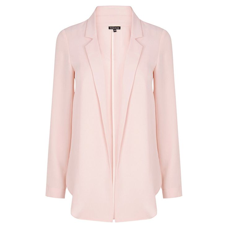 Buy Warehouse Soft Blazer Jacket | John Lewis