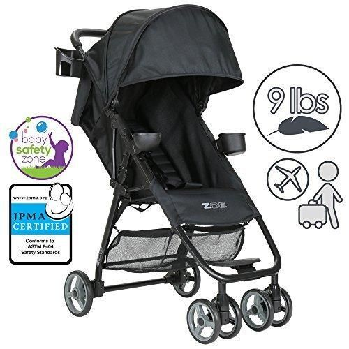 ZOE XL1 Lightweight  Umbrella Stroller System - Black
