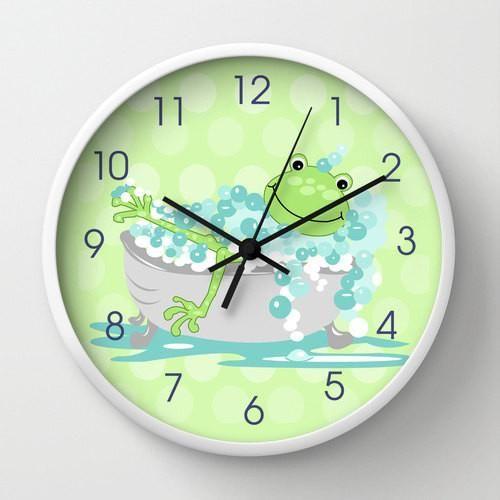 The 25 best bathroom wall clocks ideas on pinterest for Bathroom clock ideas